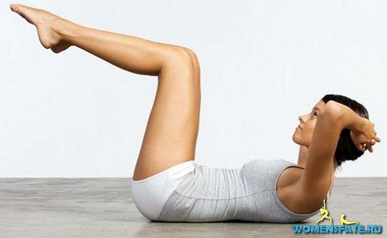 упражнение подъемы