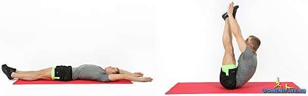 упражнение раскладушка