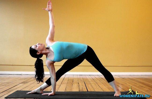 упражнение треугольние
