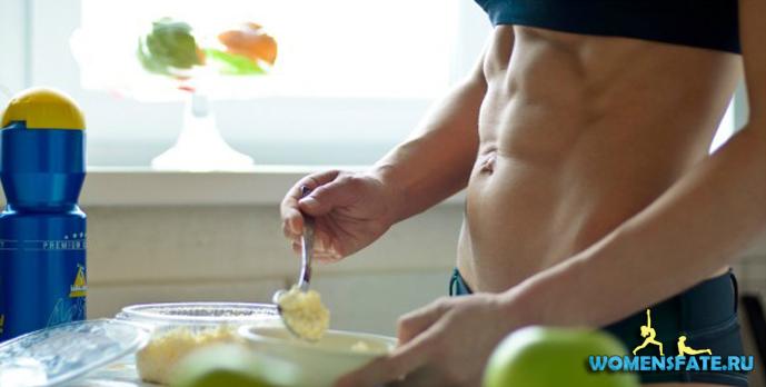 готовить спортивное питание