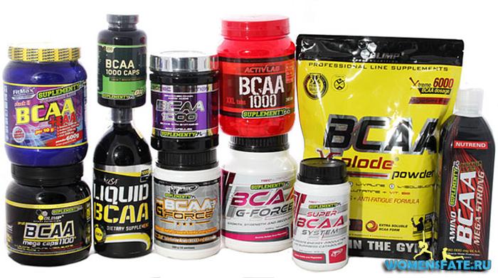 BCAA комплексы