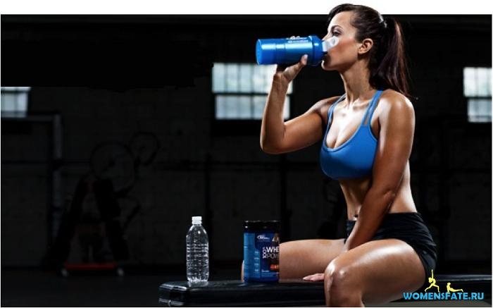 как правильно пить спортпит девушки