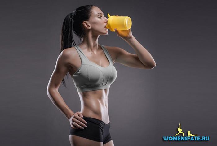 спортивное питание для женщин