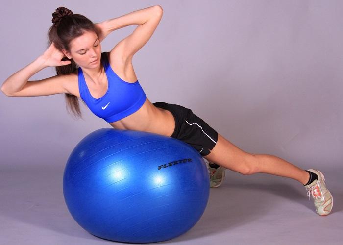 Комплекс занятий с мячом или фитбол