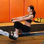 упражнение гребля