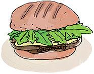 сэндвич с одуванчиками