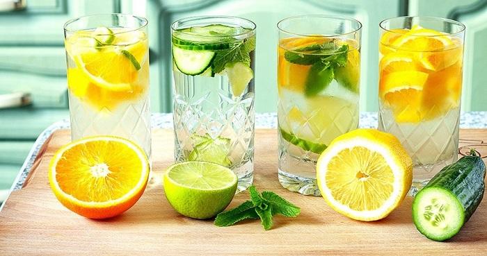 вода с лимоном от вздутия